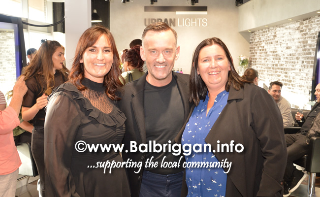 Miriam Kelly, Brendan Courtney and Sandra McAleer