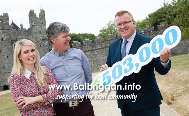 Sarah Jane Brangam, Piranha Beverages T/A Cult Drinks and Billy Griffin, Artisan Solutions Ltd who both received a Business Expansion Grant and Oisín Geoghegan, Head of Enterprise, Fingal.
