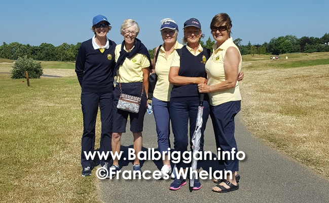 Balbriggan Golf Club Ladies Team update jul18
