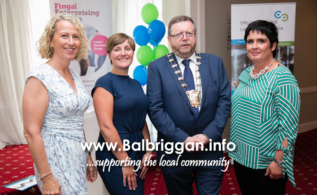 Mayor of Fingal, Cllr Anthony Lavin at the Fingal Enterprising Women Summer Network Event which was attended by 50 businesswomen this week at the Waterside Hotel in Donabate.