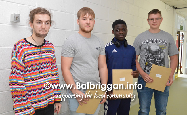 Balbriggan Community college students receive their leaving cert results 15aug18_11