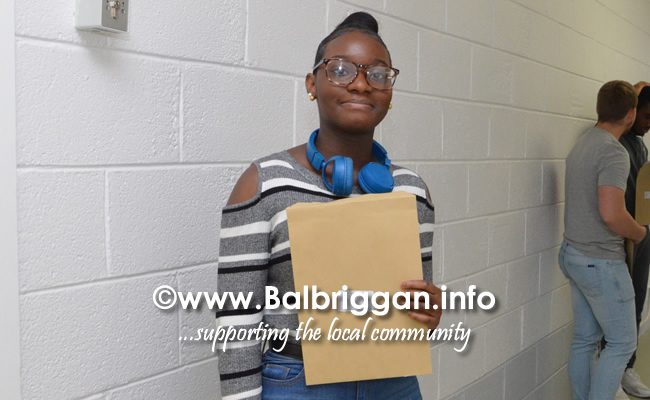 Balbriggan Community college students receive their leaving cert results 15aug18_5