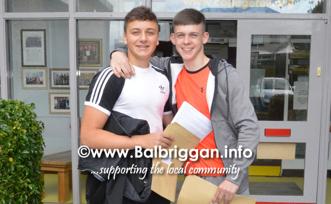 Balbriggan Community college students receive their leaving cert results 15aug18_7