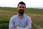 Joe OBrien at the green field Castlelands site