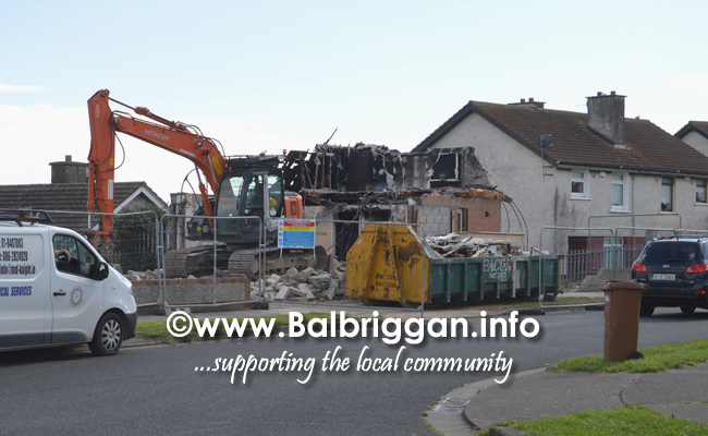 demolition_pinewood_community_centre_balbriggan_10aug18