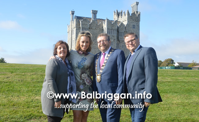 Cllr Grainne Maguire, Kathryn Thomas, Mayor of Fingal Cllr Anthony Lavin and Cllr Malachy Quinn