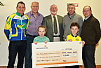 East Meath Cycle Tour Chq presentation to IMNDA €5,450 sep18 smaller