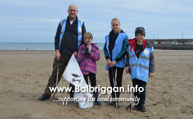 big beach clean balbriggan 15sep18_2
