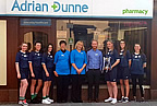 odwyers_senior_ladies_team_and_adrian_dunne_pharmacy_02sep18 smaller