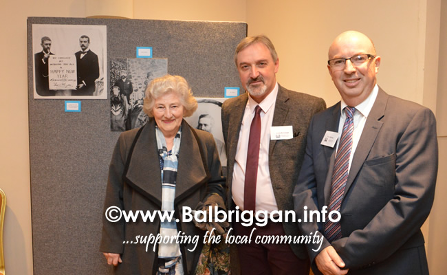 Balbriggan People & Places 1893 exhibiton launch 19oct18_2
