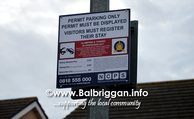 illegal parking signs balbriggan 08oct18