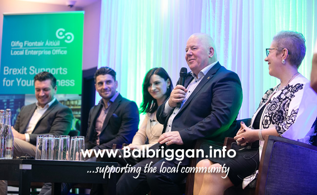 "The panel of speakers at the LEO Fingal business breakfast on ""Hiring and Holding onto the Best Staff for Your Business"""