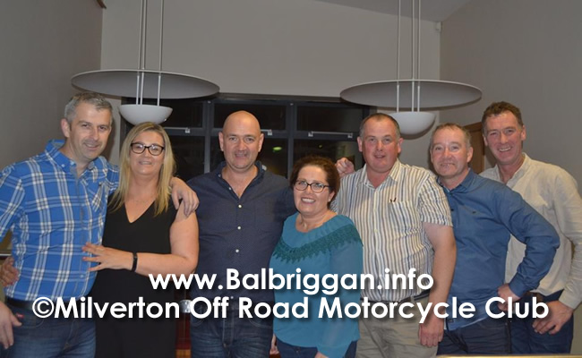 Milverton Off Road Motorcycle Members Club Committee - Ian & Kate Whearty, Edward Russell, Sandra Branagan, Andrew Plant, David Byrne, Martin Clinton