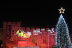 Swords Castle at Christmas