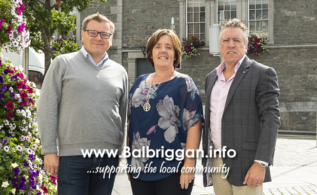 Cllr Malachy Quinn, Cllr Grainne Maguire and Cllr Tony Murphy