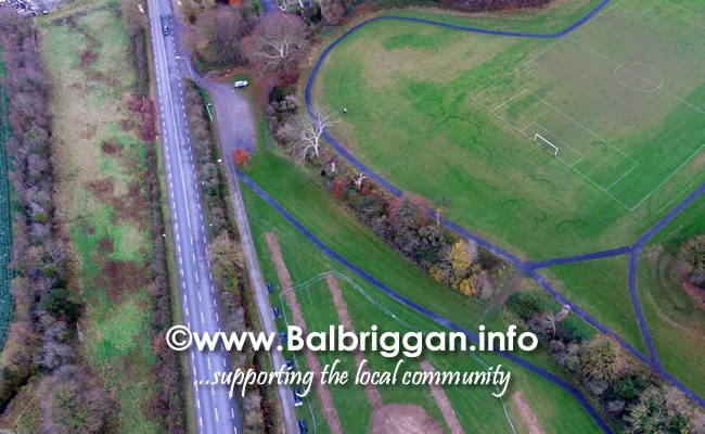 Works begin on Playground and Multi Use Games Arena in Glebe Park Balrothery 18-Nov-18 3