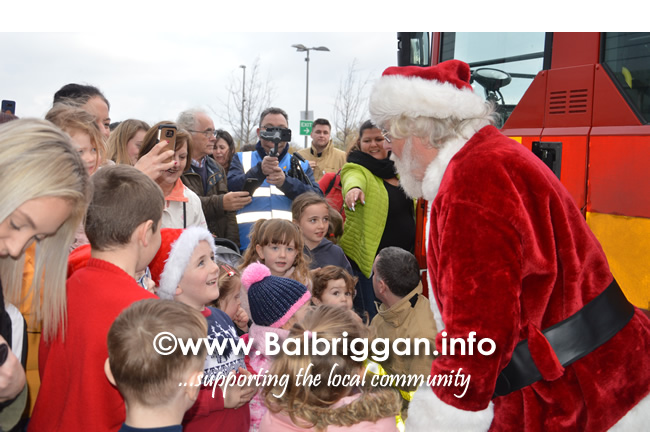 santa arrives at Millfield Balbriggan 24nov18_2