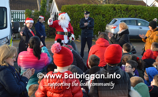 Garda Band & Community Gardai visit to 3 Balbriggan Schools 20dec18_10