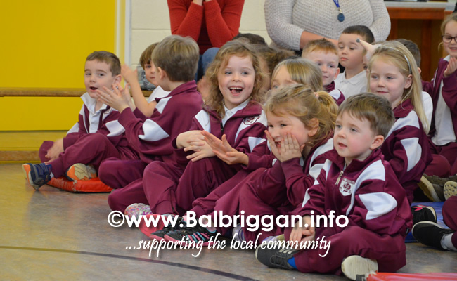 Garda Band & Community Gardai visit to 3 Balbriggan Schools 20dec18_14