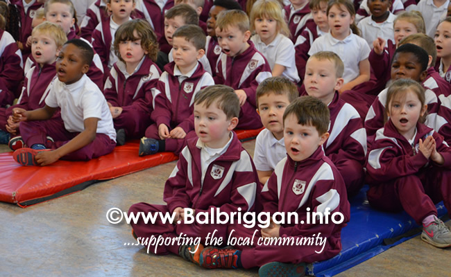 Garda Band & Community Gardai visit to 3 Balbriggan Schools 20dec18_15