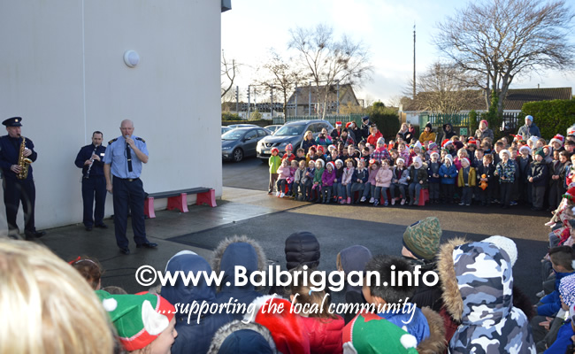 Garda Band & Community Gardai visit to 3 Balbriggan Schools 20dec18_7