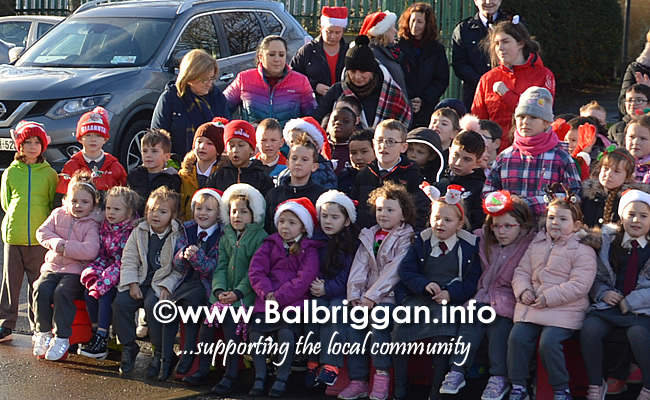 Garda Band & Community Gardai visit to 3 Balbriggan Schools 20dec18_8