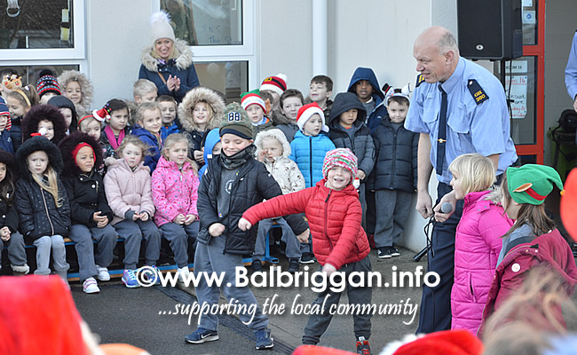 Garda Band & Community Gardai visit to 3 Balbriggan Schools 20dec18_9