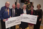balbriggan golf club captains charity cheque presentations 15dec18 smaller