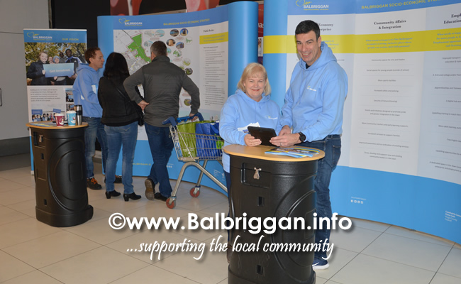 our balbriggan team in Millfield shopping centre 01dec18