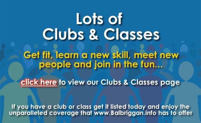 Balbriggan.info clubs and classes ad