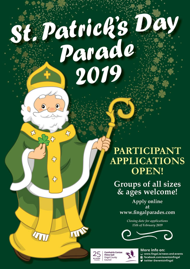 St Patricks Day Applications 2019