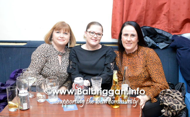Odwyers Balbriggan strictly wrap up party 02feb19