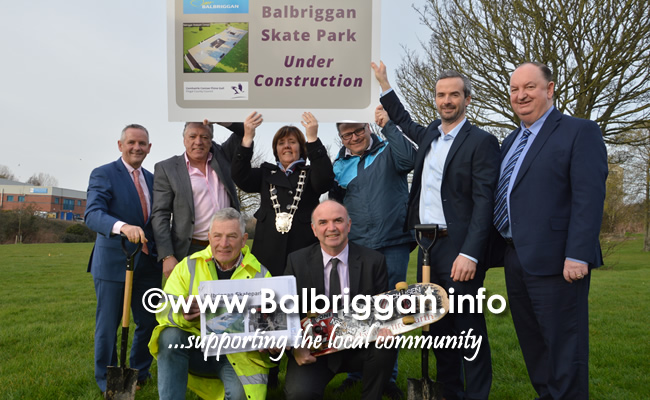 construction to begin on balbriggan skatepark 15feb19