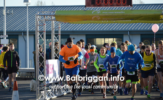 Balbriggan Cancer Support Group 10k half marathon 17mar19