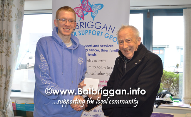 Balbriggan cancer support group 10k half marathon 17mar19 presentation 2