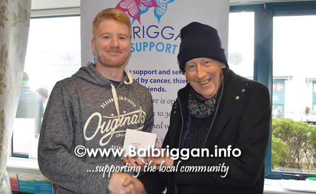 Balbriggan cancer support group 10k half marathon 17mar19 presentation 7