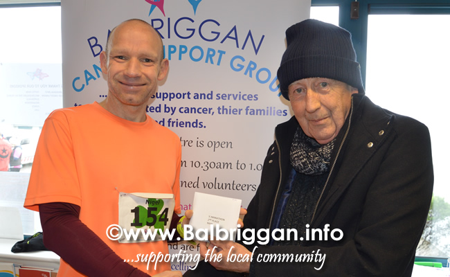 Balbriggan cancer support group 10k half marathon 17mar19 presentation 8