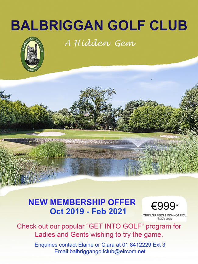 balbriggan golf club memberhip