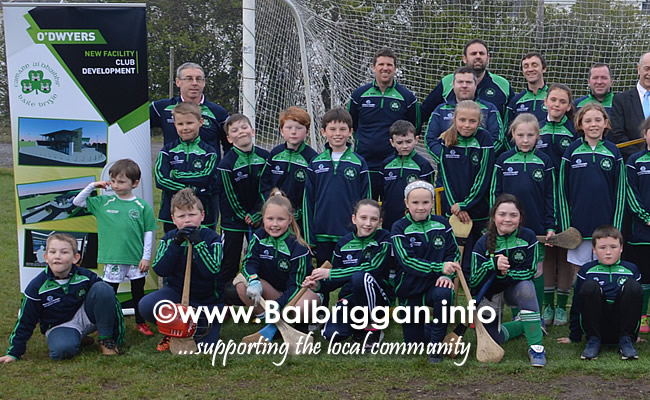 Ace Exppress Logistics sponsor O'Dwyers GAA u10 and U11 teams 16apr19_4