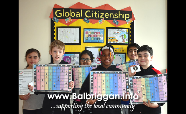 Balbriggan ETNS Pupils Call on Community to Make a Change 10apr19