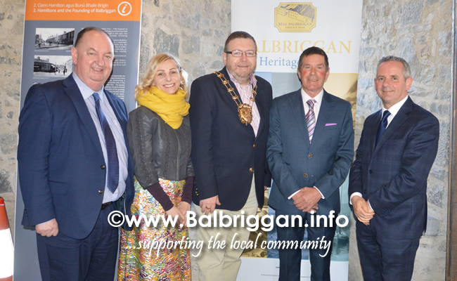 Balbriggan Heritage Trail Official Launch 02apr19