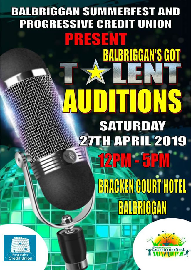 balbriggans got talent open auditions