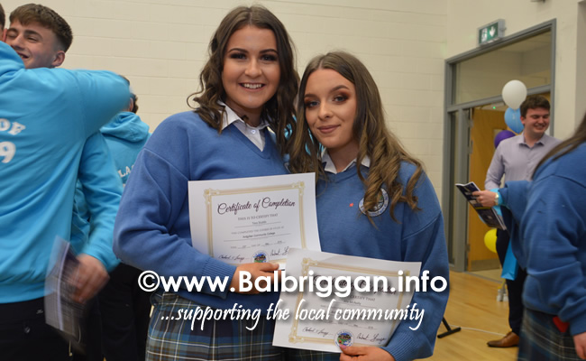 Ardgillan Community College Graduation 23may19