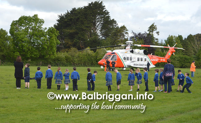 Coastguard Visits Balscadden National School - Balbriggan info