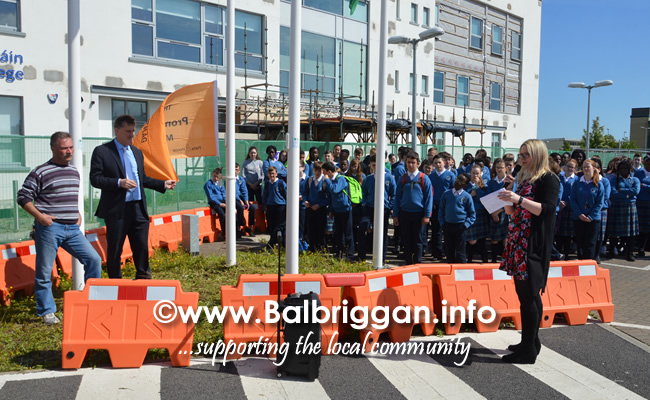 ardgillan community college awarded an amber flag 21may19_3
