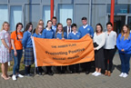 ardgillan community college awarded an amber flag 21may19_smaller