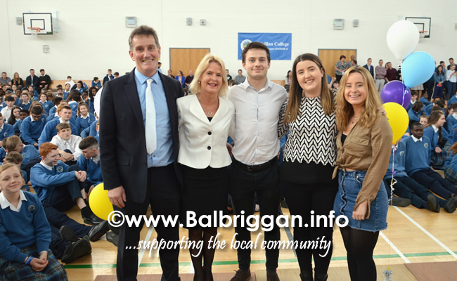 ardgillan community college principal Michael OLeary to retire 21may19_4