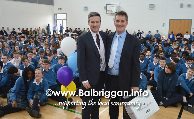 ardgillan community college principal Michael OLeary to retire 21may19_6