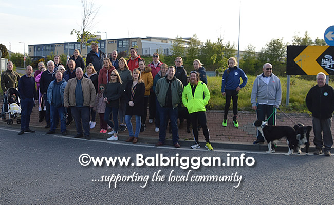 group meet to oppose the Castlelands Masterplan in Balbriggan 07may19