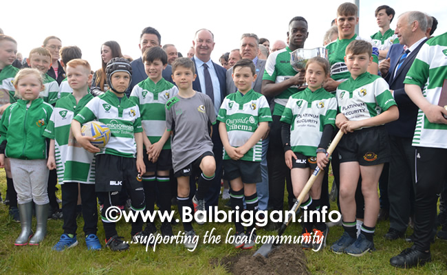 sod turning for new clubhouse at Balbriggan rugby football club 17may19_2